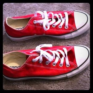 Red Chuck Taylor All Star Low Top